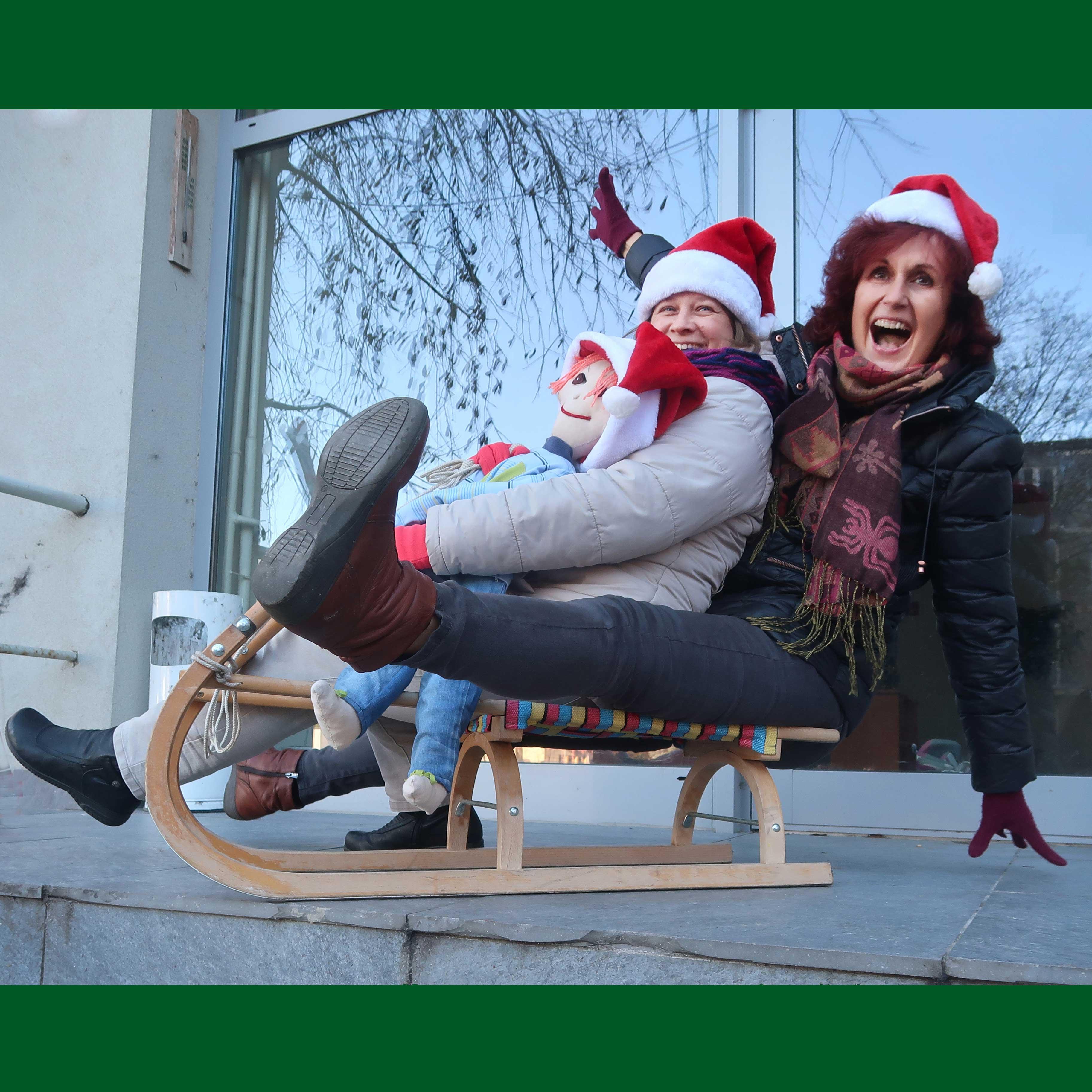 Čarovné Vianoce, kamaráti