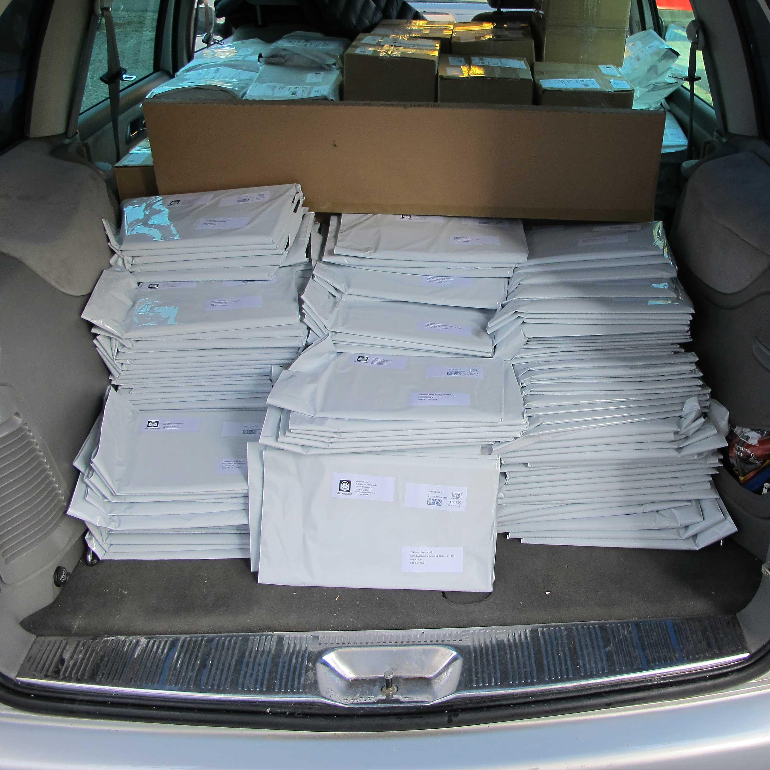 Pošta od Všetkovedka je už v školách